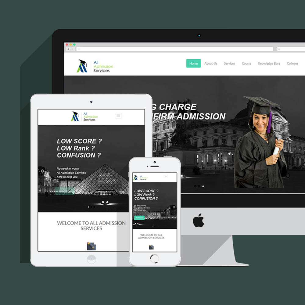 https://stackmint.com/All Admission Services Website Development
