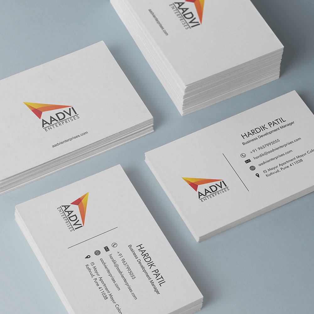 https://stackmint.com/Aadvi Enterprises Design and Branding