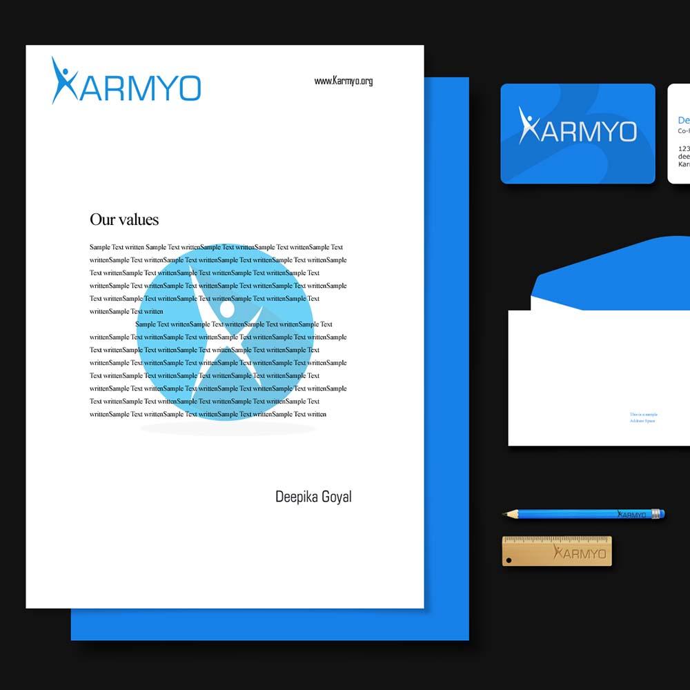 https://stackmint.com/Karmyo Logo Design & Branding